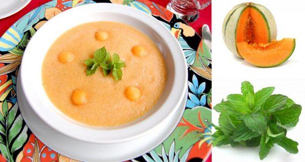 soupe-melon-menthe
